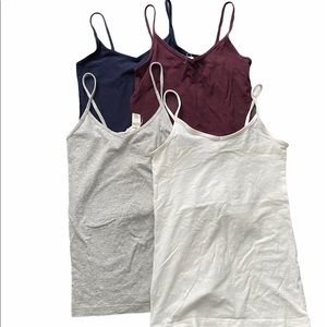 Forever 21 V Neck Cami Tanks Bundle